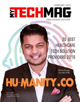 MYTECHMAG Magazine Healthcare Edition Feb 2019